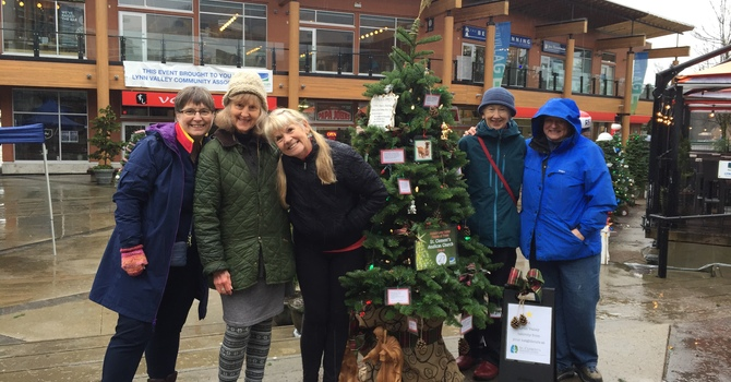 Visit St. Clement's Christmas tree in Lynn Valley Village image