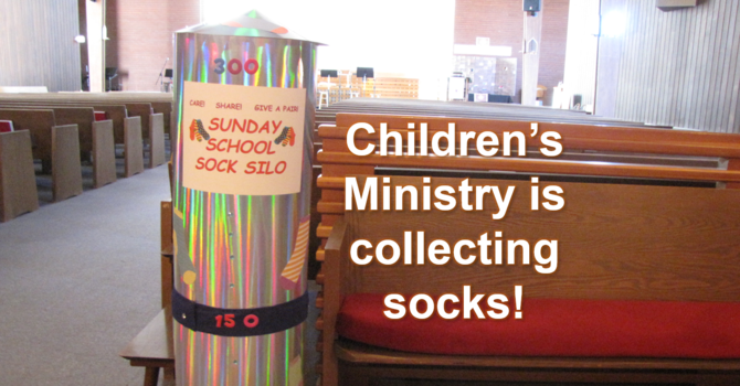Children's Ministry Sock Drive image