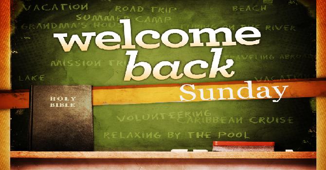 Welcome Sunday