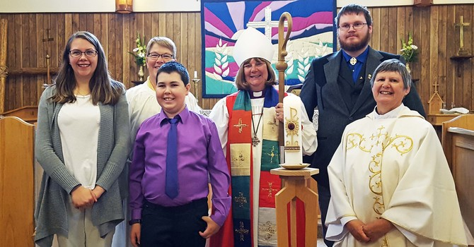 St. Saviour's Celebrates Baptism and Confirmation image