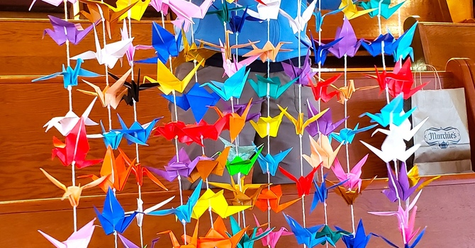Dedication of 1000 Cranes for Peace image