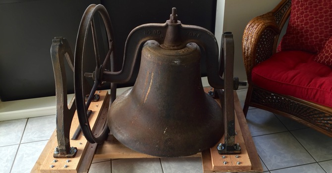 Repair and raise the bell at St. Matthew Abbotsford image