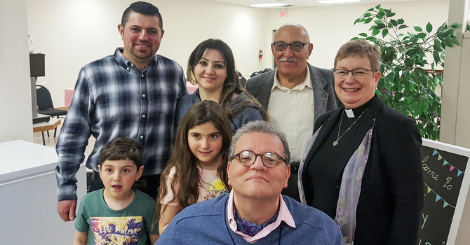 Onoway Community Welcomes Vicar of Baghdad  image