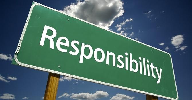 Ps. Matt - Taking Responsibility