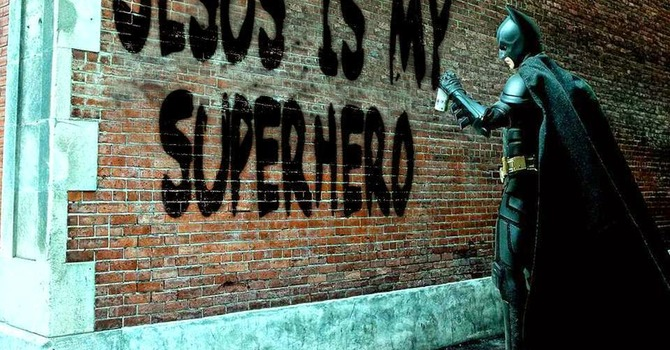 Jesus is my Superhero image