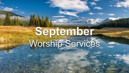 September Worship Series
