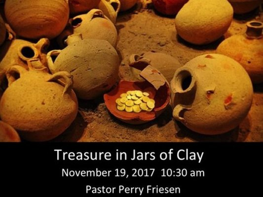 Treasures in Jays of Clay