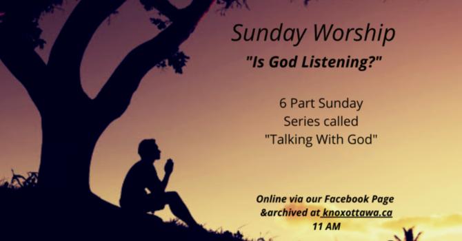 Is God Listening?
