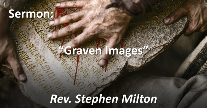 "Sermon: ""Graven Images: Art Show Sunday"""