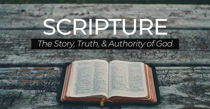 The Authority of the Scriptures