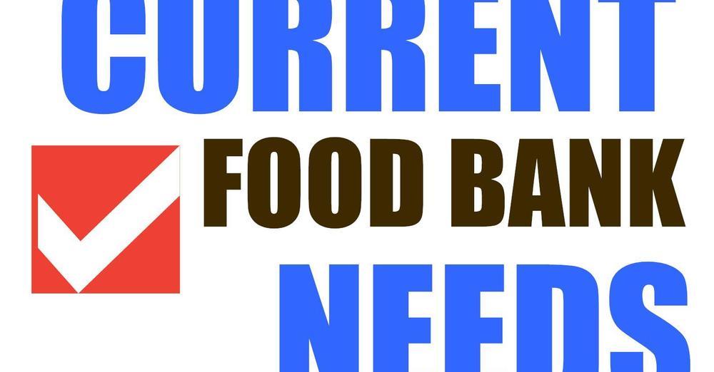 Roxbury Food Bank Immediate Needs!