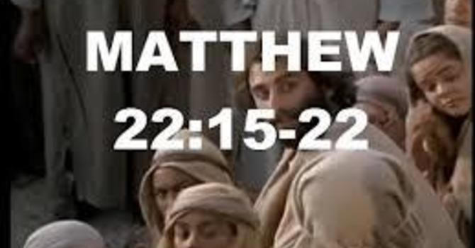 The Gospel according to Matthew image