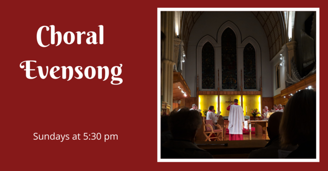 Choral Evensong - October 18, 2020 image