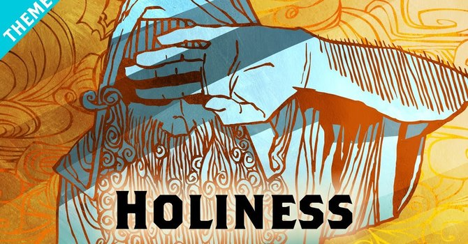 What does God mean when he asks us to be holy as He is holy? image