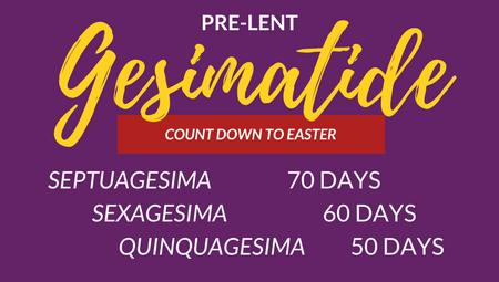 Pre-Lent