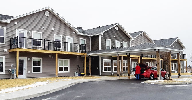 Parish celebrates opening of seniors' housing complex image