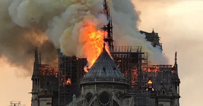 Vancouver's Christ Church Cathedral to toll its bell in solidarity with Notre Dame   image