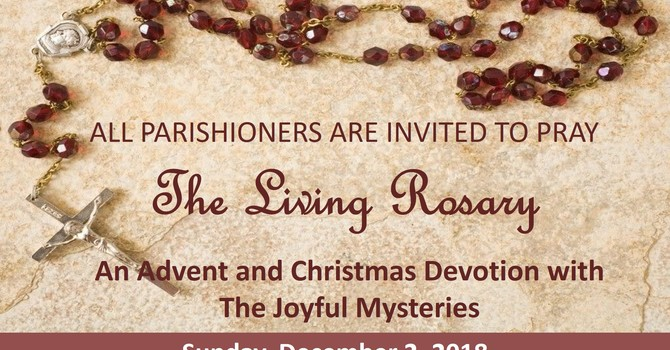Living Rosary - Join Along Dec 2 - Feb 2