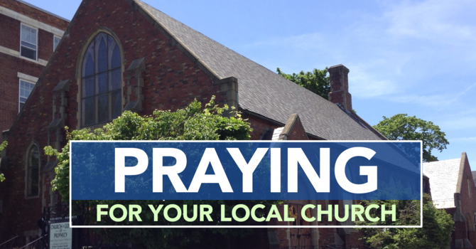 PRAYING FOR YOUR LOCAL CHURCH image