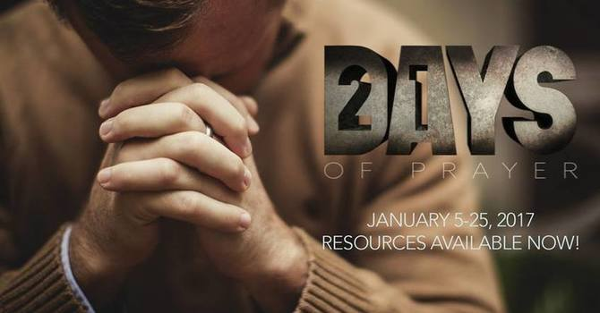 21 Days of Prayer & Fasting: WEEK ONE! image