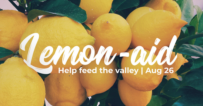 Lemon-aid: Help feed the valley