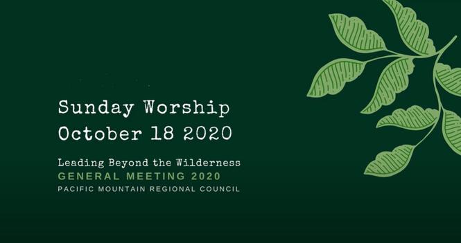 October 18, 2020 Worship Service