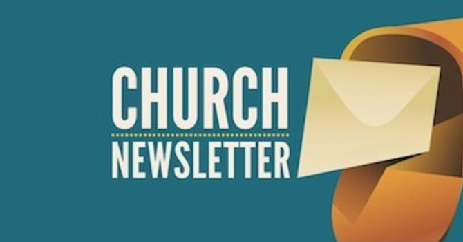 Easter Newsletter image