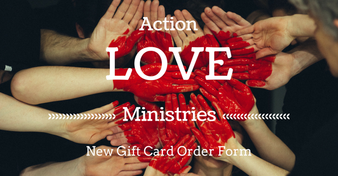 New Gift Card Order Form for Action Love image