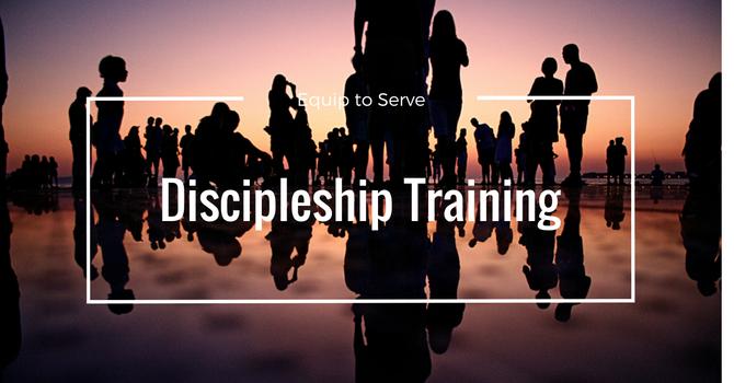 Discipleship Training Beginning Friday Nov. 10th image