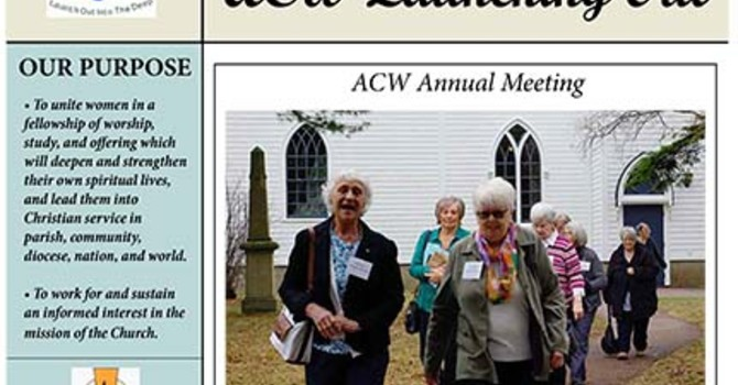 ACW Launching Out newsletter image