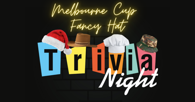 Melbourne Cup Fancy Hat Trivia Night