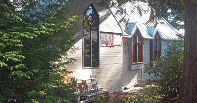 Sailboat Rigging Will Secure Sechelt Church Building image