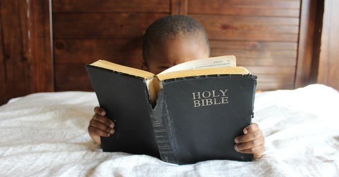 Seeking God through His Word image