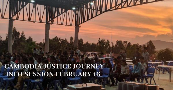Cambodia Justice Journey Info Session