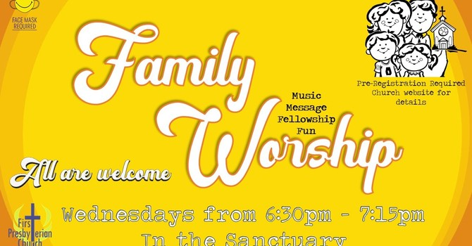 Wednesday Evening Family Worship Attendance Registration