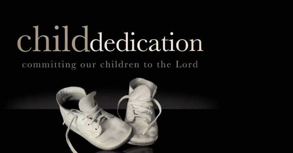 Child Dedication Sunday