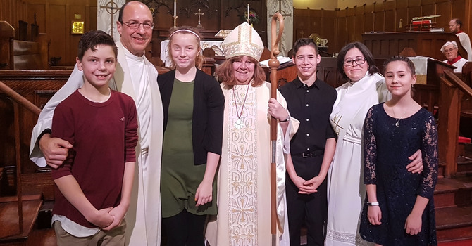 Epiphany Confirmation at Holy Trinity, Old Strathcona