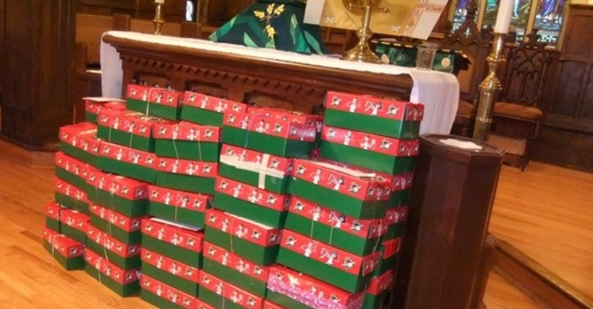 Your shoebox gifts are on their way! image