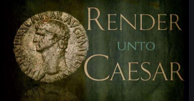 Pentecost 19A - October 18, 2020