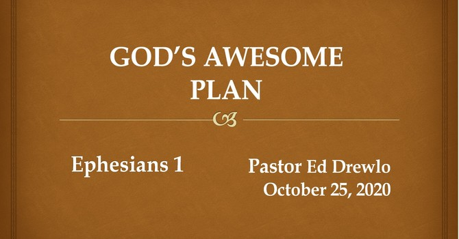 God's Awesome Plan