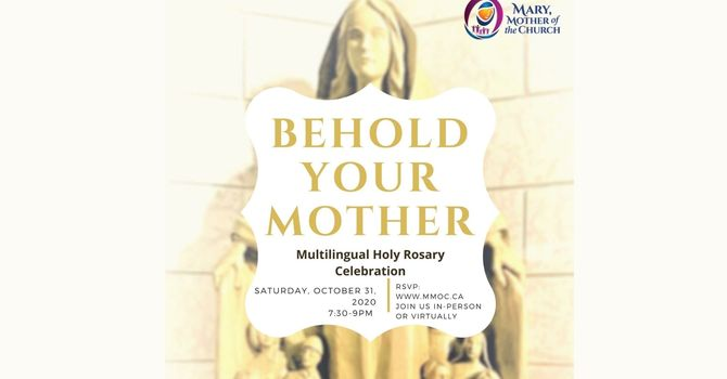 Behold Your Mother- Multilingual Holy Rosary
