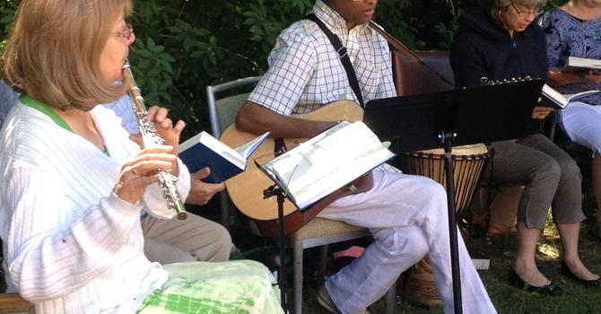 Summer Worship outside image