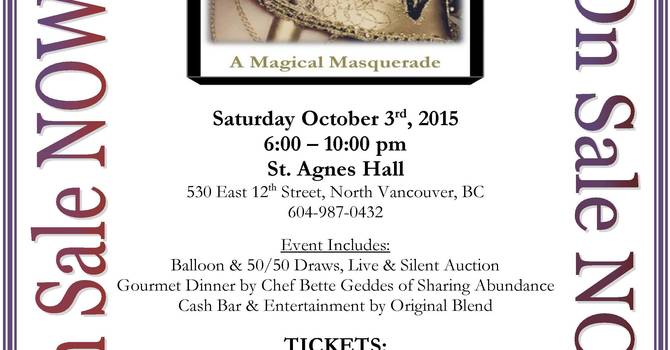 Tickets on sale now for the annual Gala at St Agnes image