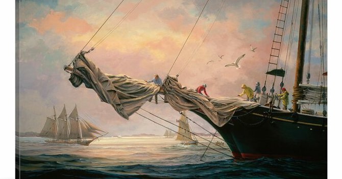 Art and Soul for Lent  Day 4 - Sail Away image