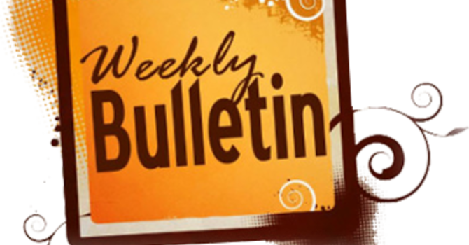 Weekly Bulletin image