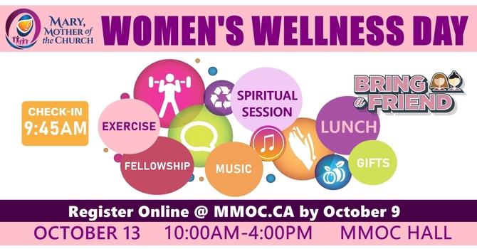 Women's Wellness Day - Register by Oct 9