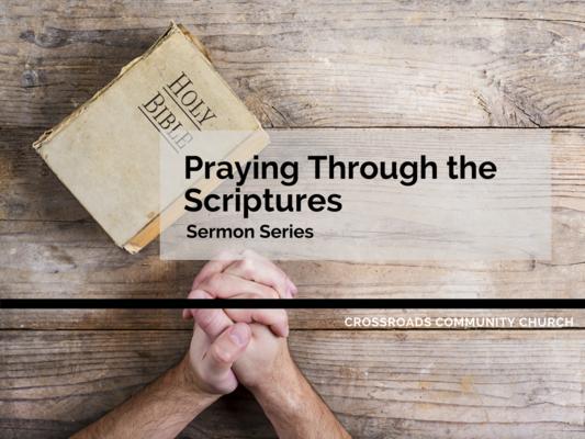 Praying Through the Scriptures