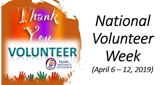 National Volunteer Week - How many people can you thank?!!