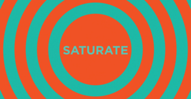 Saturate image