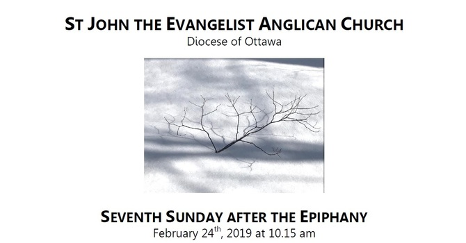 The Seventh Sunday after the Epiphany